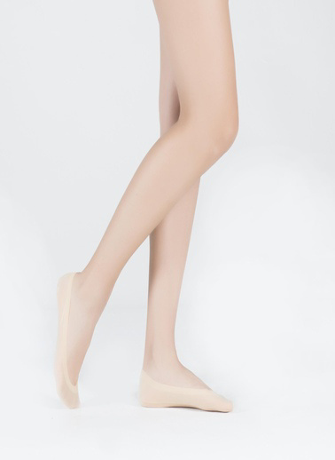 Katia & Bony China Footie Kadın Basic Görünmez Çorap  Ten